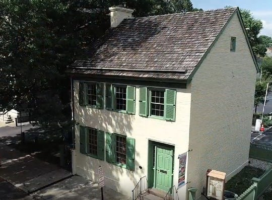 "Screenshot from the video, ""Welcome to Marshall House in Lambertville, NJ."""