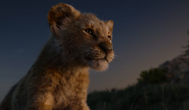 """JD McCrary voices Young Simba in """"The Lion King"""""""