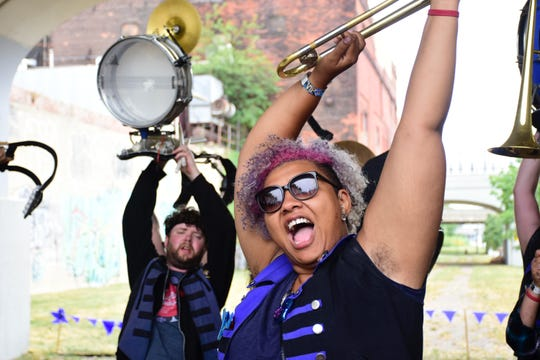 Volunteer-run music festival Crash Detroit features brass-heavy bands from Detroit and elsewhere.