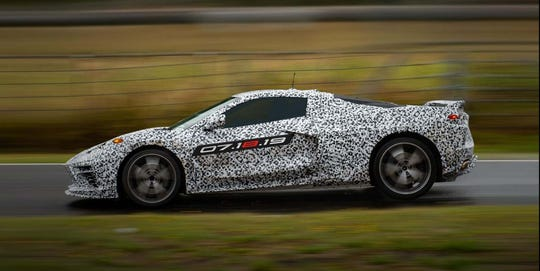 The long-awaited Corvette C8 is the first production 'Vette with the engine behind the driver.
