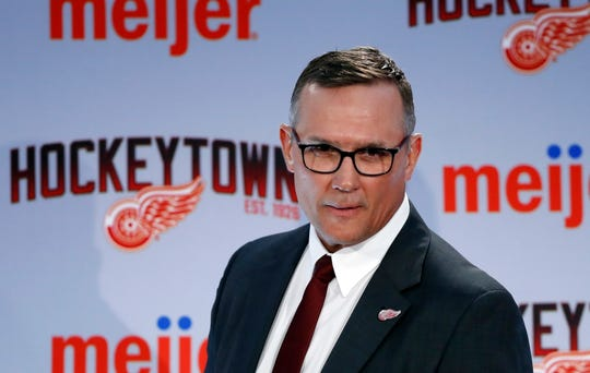 Steve Yzerman shook up the team's amateur scouting department by not renewing the contracts of top scouts Tyler Wright and Jeff Finley.