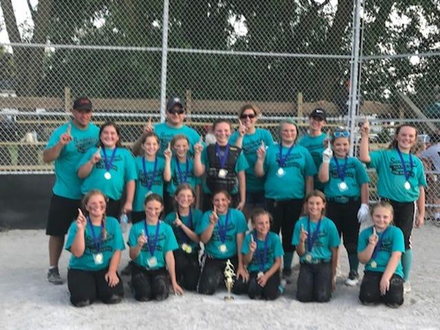 Oak Harbor Sandwisch Hay & Straw won the ESGSA tournament in Pemberville.