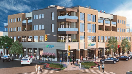 Elevations Credit Union broke ground on its new office and condo project at 221 E. Mountain Ave., across from the Bohemian Foundation and The Elizabeth Hotel.