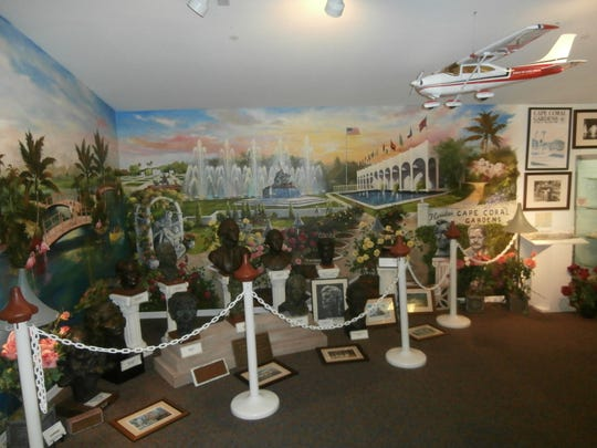 Asked which exhibit at The Cape Coral Historical Society & Museum has stood out to her the most, new executive director Janel Trull selected the one devoted to the Cape Coral Gardens in the Gulf America Building.