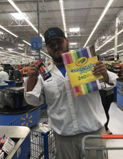 Michael Montgomery's  kindness towards a Fort Myers teacher looking to get a jump on school supplies got him a big thank you from the woman, rising attention on social media, an offer of a free pizza and possibly a way to help other teachers as well.