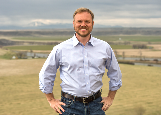 John Mues, a Democrat, enters 2020 race for U.S. Senate seat.