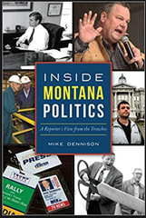 Reporter Mike Dennison's new book.