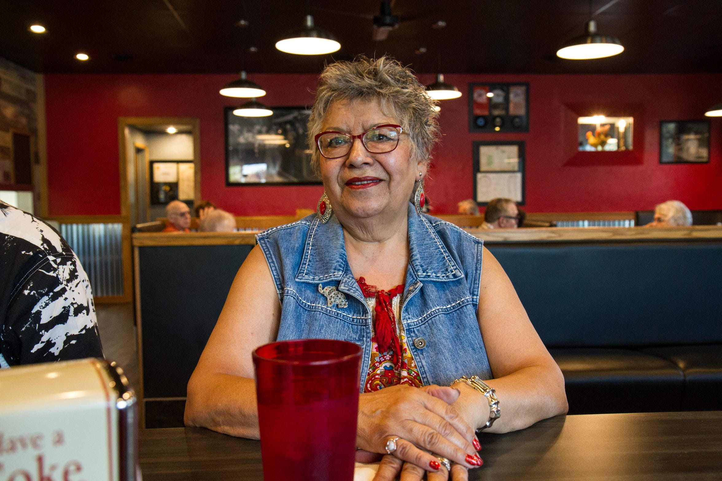 Francey Armstrong said she's always loved the food at Tracy's.