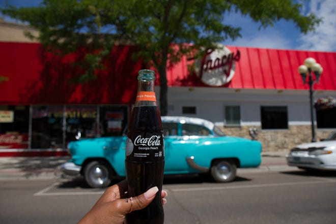 Tracy's has now reopened and they have flavored bottled cokes.