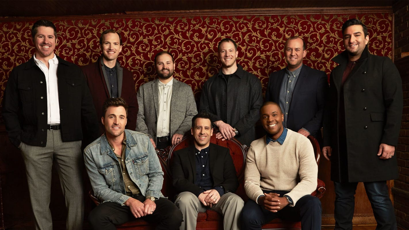 Vocal group Straight No Chaser plans a