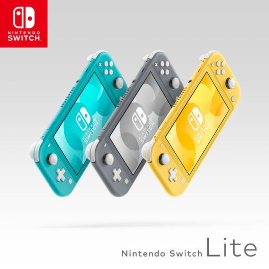 The Nintendo Switch Lite arrives Sept. 20, 2019, for $199.99.