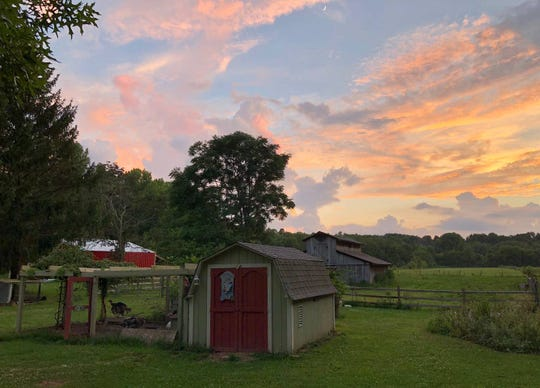 You won't get many better sunset views than at this Avon farm.