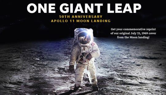 Apollo 11 Commemorative Reprint