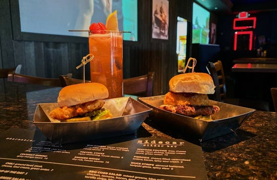 Sliders and cocktails are on the menu at Sidecar Slider Bar in Novi. Owner Raymond Kurmas is gearing up to open another location in Brighton.