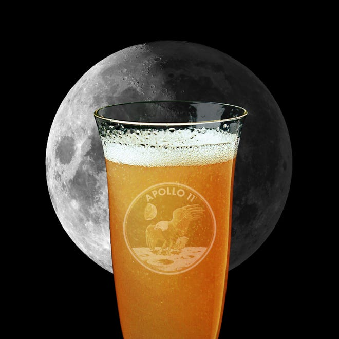 Celebrate the 50th anniversary of the moon landing with the Moonwalk cocktail.