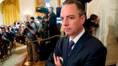 Reince Priebus, then Donald Trump's Chief of Staff, attends an event in the East Room at the White House in Washington in June of 2017.