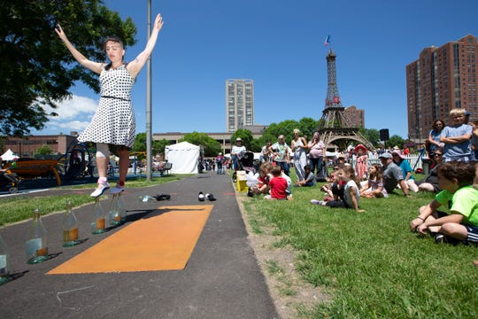 Improvements would come to downtown's Cathedral Square Park under a new city financing proposal. The park's events include the annual Bastille Days.