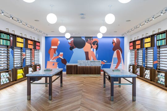 Warby Parker's Green Hills store will debut July 13.