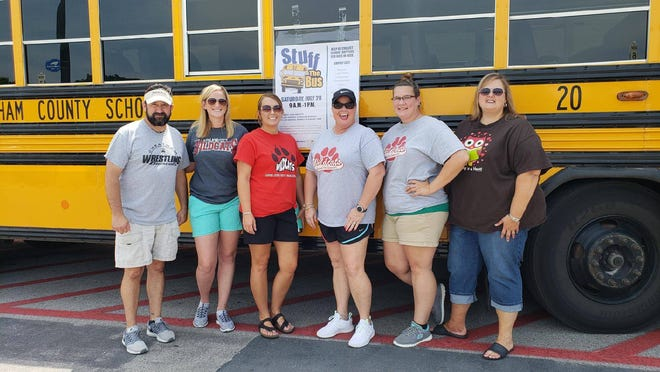 "The County School District will host the second annual ""Stuff the Bus"" on Saturday, July 27. One of the drop-off locations is Walmart in Ashland City."