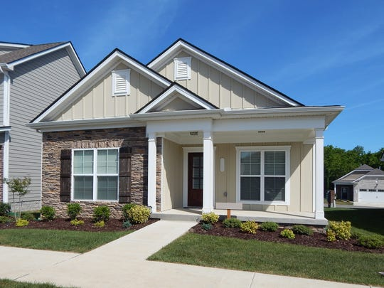 Burkitt Village has energy-efficient one- and two-story homes with up to four bedrooms, two baths, two-car garages and open floor plans. The neighborhood is in Nolensville.