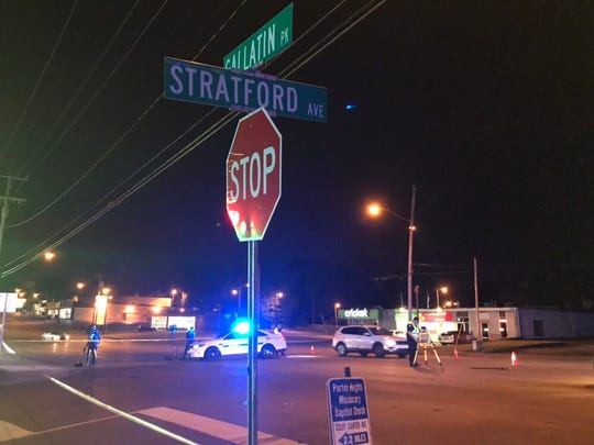 A hit-and-run left a pedestrian dead at Gallatin Pike and Stratford Avenue on Wednesday night, police said.