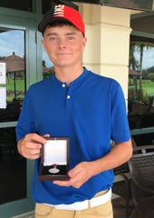 Miami Lakes' Luke Clanton shot a 67 for a 140 total to win medalist honors in the U.S. Amateur sectional qualifier at Kensington Golf & Country Club in Naples on Thursday, July 11, 2019.