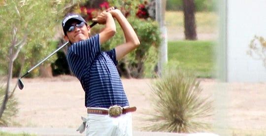 "Aaron ""Nemo Perales captured the Rio Mimbres Men's Club golf title."