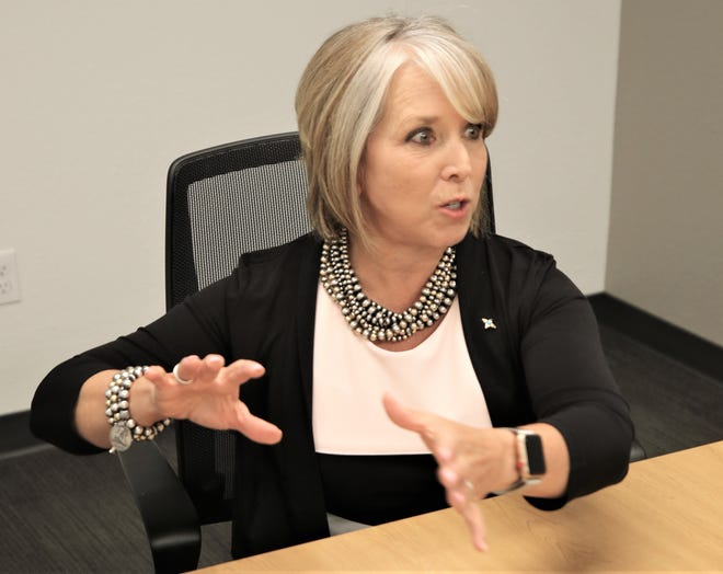 Gov. Michelle Lujan Grisham says San Juan County could benefit greatly from recent changes to the state's law that provides tax incentives to TV and film producers who shoot projects in the state.