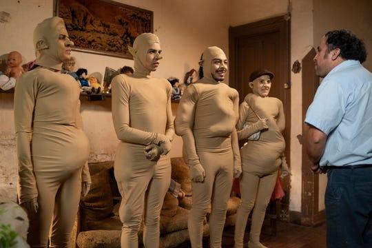 Cassandra Ciangherotti, Julio Torres, Bernardo Velasco and Ana Fabrega of HBO's 'Los Espookys.'
