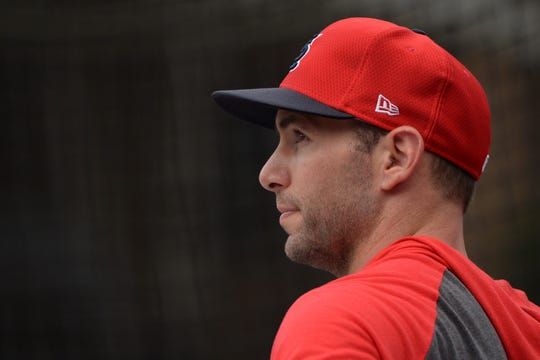 Cardinals first baseman Paul Goldschmidt looks on before the game against the Padres at Petco Park.