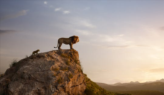 "Everything the light touches is still Mufasa and Simba's kingdom in ""The Lion King."" (2019)"