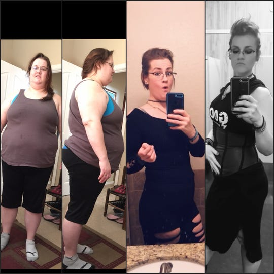 April Wood helped Chantel Cooper as she went through her own weight loss journey. She lost 200 pounds.