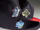 A promotional image of New Era's latest line of crystal caps.