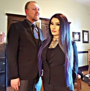 Stuart de Haan and Michelle Shortt founded the Arizona chapter of The Satanic Temple in 2015. The group has unsucessfully lobbied cities for years to deliver invocations at city council meetings.