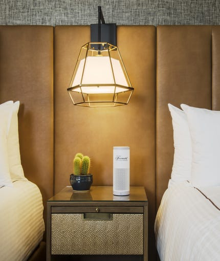 Renovated rooms at the Fairmont Scottsdale Princess will have Echo Dot.