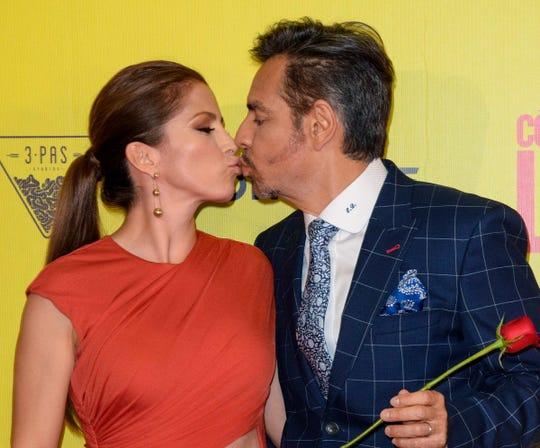 Alessandra y Eugenio mantienen un matrimonio sólido.