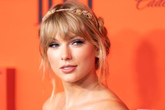 La cantante estadounidense Taylor Swift.