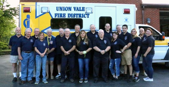 Union Vale Rescue Squad was named EMS Agency of the year by the Dutchess County EMS Council.