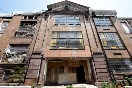The original Chambersburg High School will be restored to its former glory as part of a transformation into the Rose Rent Lofts. The front of this building was largely hidden from view for nearly 60 years.