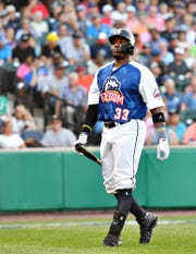 Telvin Nash hit his 25th homer of the season on Thursday for the York Revolution.