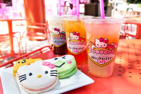 Hello Kitty Café Las Vegas opens Friday on the Strip.