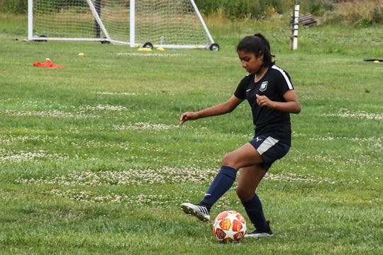 Though she usually plays farther upfield with Pajaro Valley United, her tryouts with the Olympic Development Program often put Arango on the defensive side.