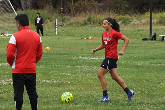 As a center attacking midfielder, Melissa Garcia's shot power and skill sets her apart.