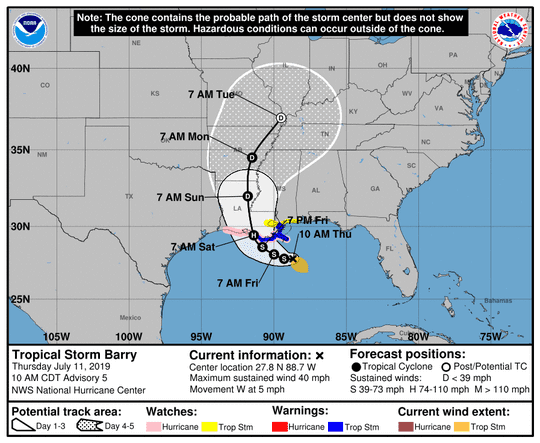 The Shreveport-Bossier and greater area is expected to be on the west side of the storm system.