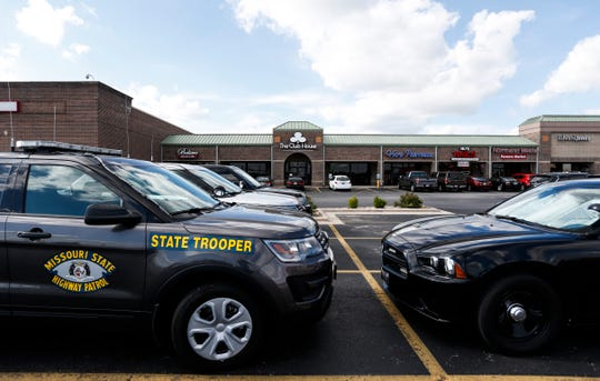 The Missouri State Highway Patrol and Springfield Police raided a business on West Battlefield Road called The Club House on suspicion of illegal gambling on Thursday, July 11, 2019.