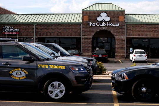 """The Missouri State Highway Patrol and Springfield Police raided a business on West Battlefield Road called """"The Club House"""" on suspicion of illegal gambling on Thursday, July 11, 2019."""