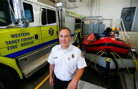 Western Taney County Fire District Chief Chris Berndt recalls the night last year he and his crews responded to a tragedy on Table Rock Lake.