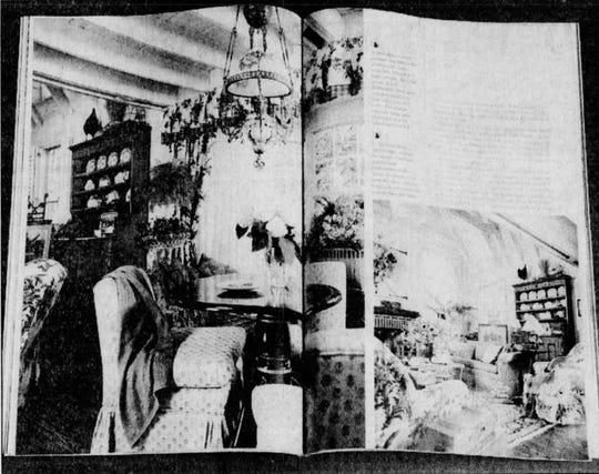 This photo was published in the Springfield News-Leader May 18, 1994. It shows part of an 11-page cover story that ran in the July 1994 issue of Traditional Home magazine. The article covered J. Douglas Cassity's opulent St. Louis-area house. He moved in after completing his first federal prison sentence in the 1980s.