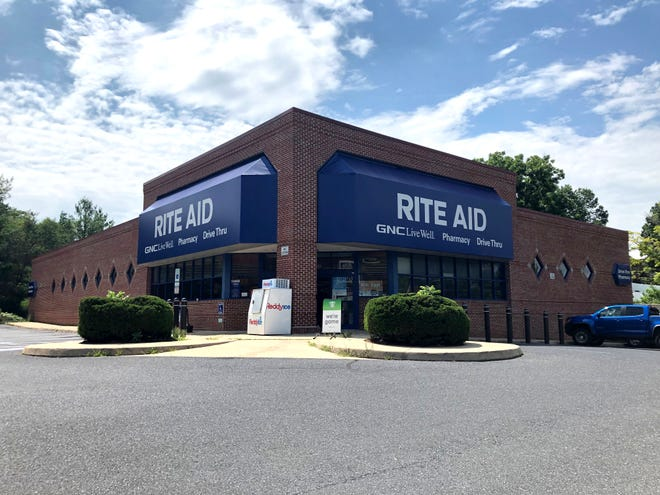 The Rite Aid Pharmacy located at 1500 W. Beverley St. in Staunton. The Rite Aid was actually purchased by Walgreens in 2017, but still has Rite Aid signage. The store will be closing in August 2019.