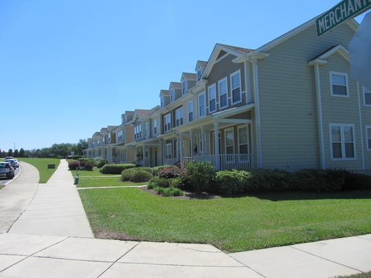 Townhomes, shown here  in Southwood, have continued to appreciate throughout the year with higher demand.